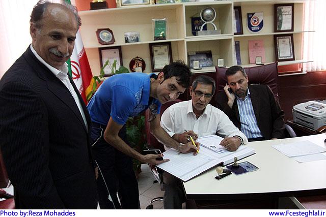 عنایتی در استقلال تهران