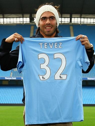 tevez to man city