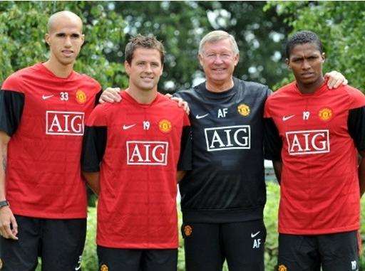 obertan & owen & valencia to man utd