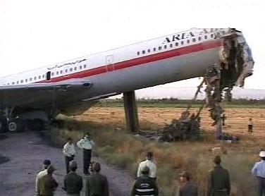 دومین حادثه هوایی در یک هفته این بار در مشهد !