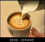 تزئین قهوه